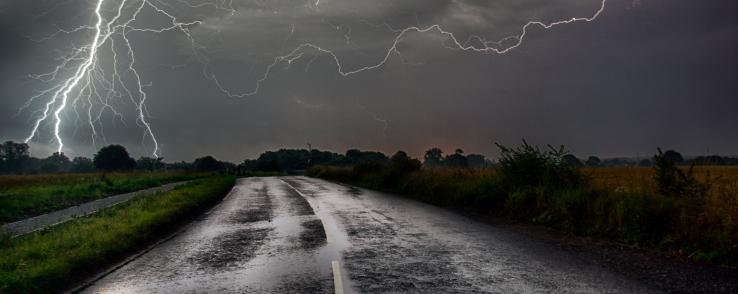 Conduire en temps de pluie