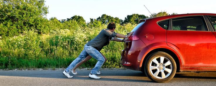 Conseils en cas de panne d'essence