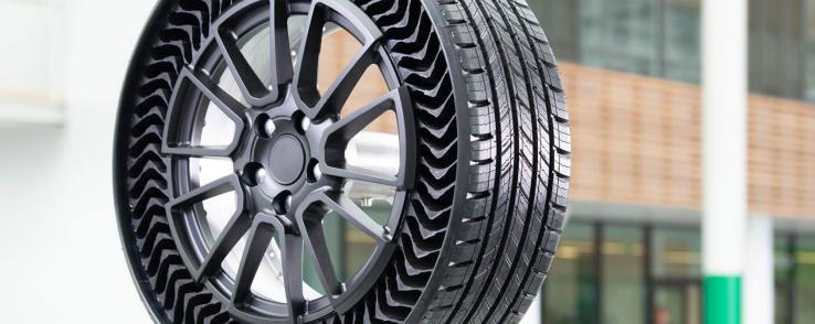 Pneu Michelin increvable : Uptis