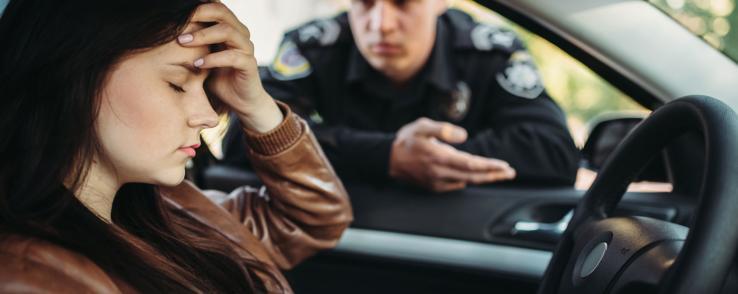 Les infractions les plus fréquentes au volant
